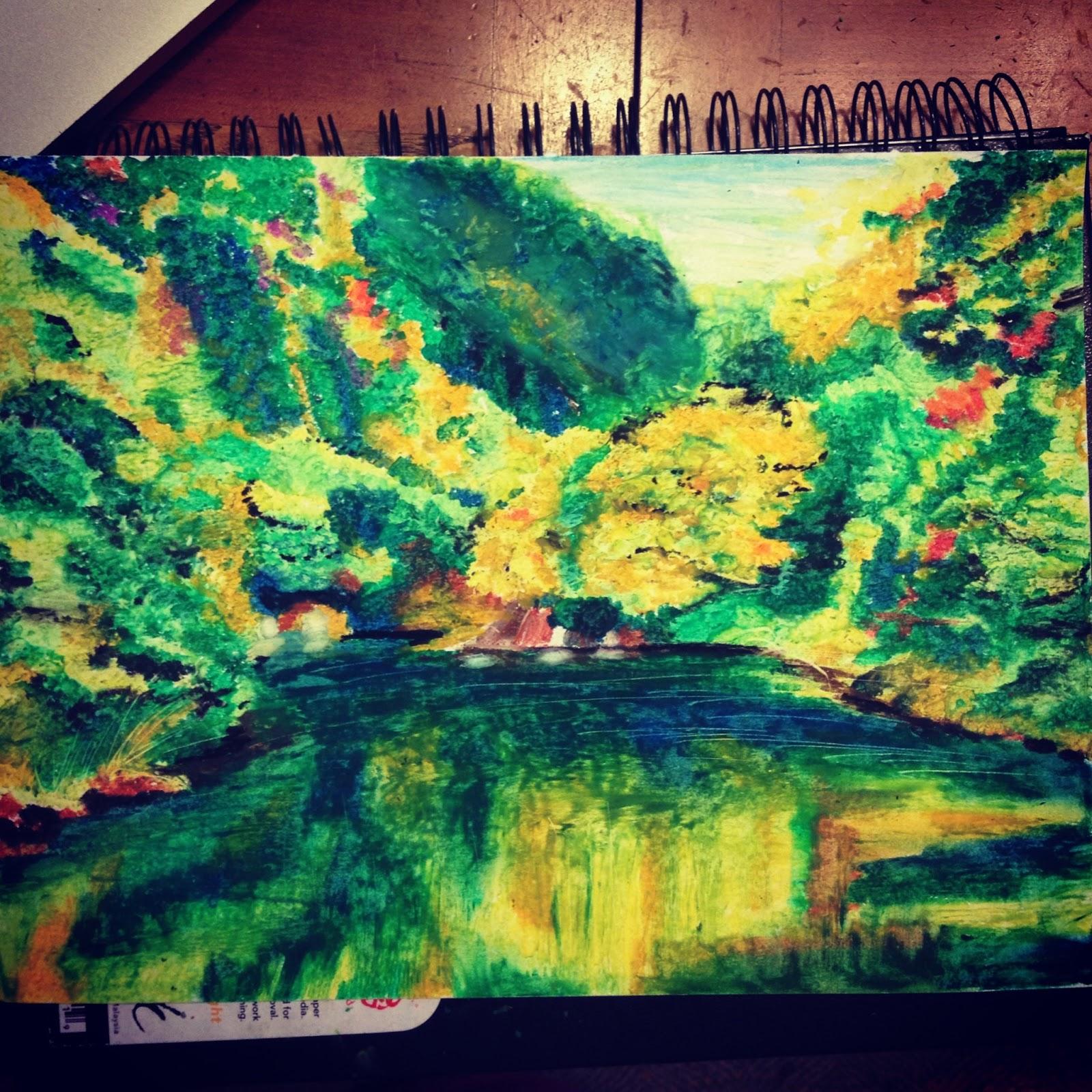 The Art of Art: Oil Pastels