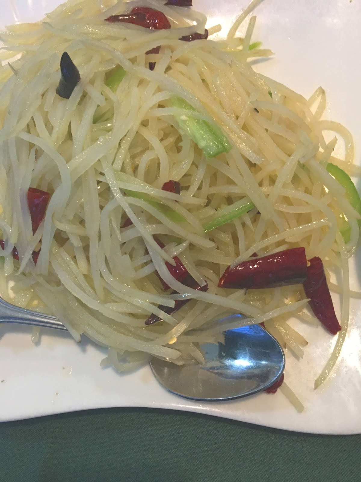 pepper potato silk at Cooking Girl - A Chinese restaurant, in Houston