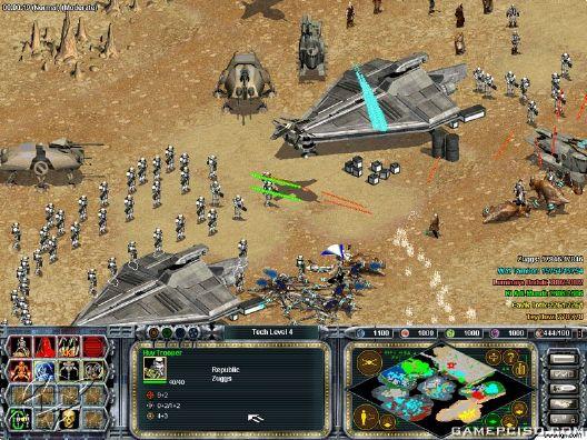 gratis star wars galactic battlegrounds clone campaigns