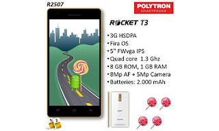Flash Polytron Rocket T3 R2507 Via ResearchDownload Tool - Mengatasi Bootloop