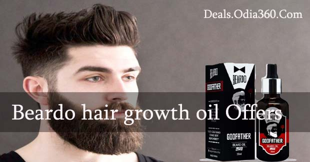 Beardo hair growth oil in Amazon, Paytm, Snapdeal, Flipkart Discount and Cashback Offer