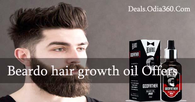 Beardo hair growth oil in Amazon, Paytm, Snapdeal, Flipkart Discount and Cashback Offer