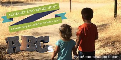 http://mom2momed.blogspot.com/2016/10/alphabet-scavenger-hunt.html