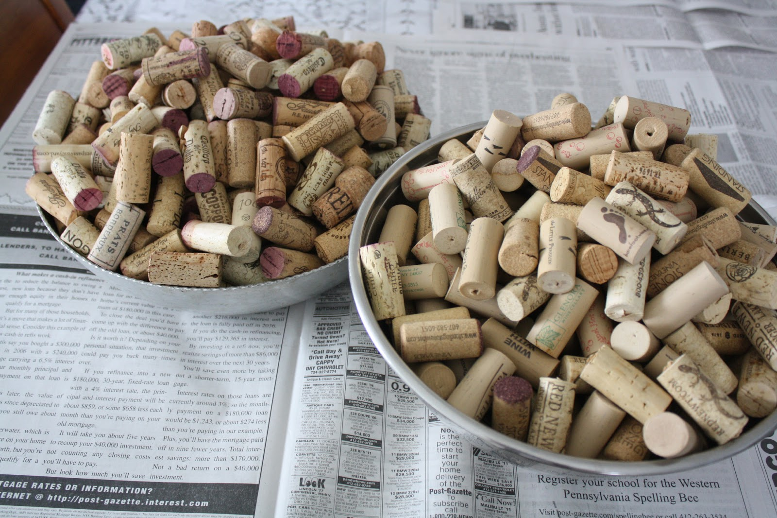 The Glamorous Pursuit How To Wine Cork Tray