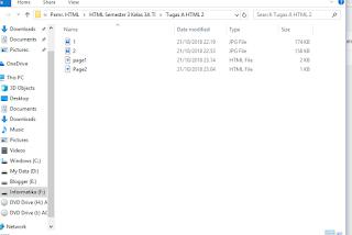 cara membuat biodata keren HTML