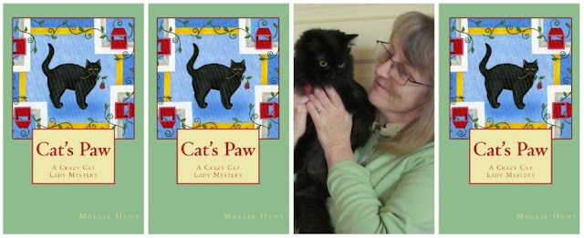 Cover of Cat's Paw, by Mollie Hunt