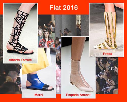 Model sepatu wanita terbaru trend 2016l