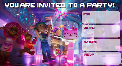 lego movie 2 the second part free printable invitations