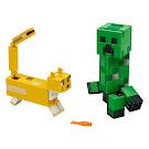 Minecraft Creeper and Ocelot BigFig Set