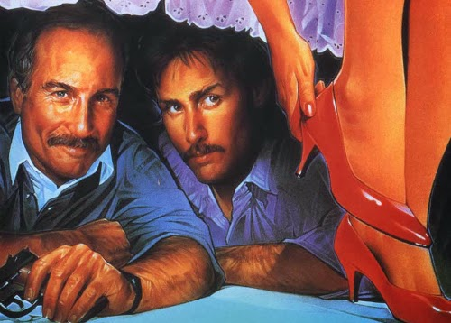 Poster do filme Tocaia, com Richard Dreyfuss e Emilio Estevez