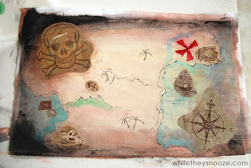 While They Snooze How To Make A Pirate Treasure Map Inspired By NETFLIX Families