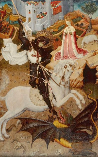 Esguard de Dona - Sant Jordi - Bernat Martorell - Xicago Art Institute