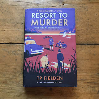 Resort to Murder by TP Fielden - Reading, Writing, Booking