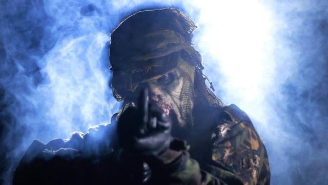 Sniper Corse: scena