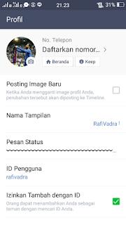 Cara Membuat Foto Profil (DP) Bergerak di Line (GIF) B612