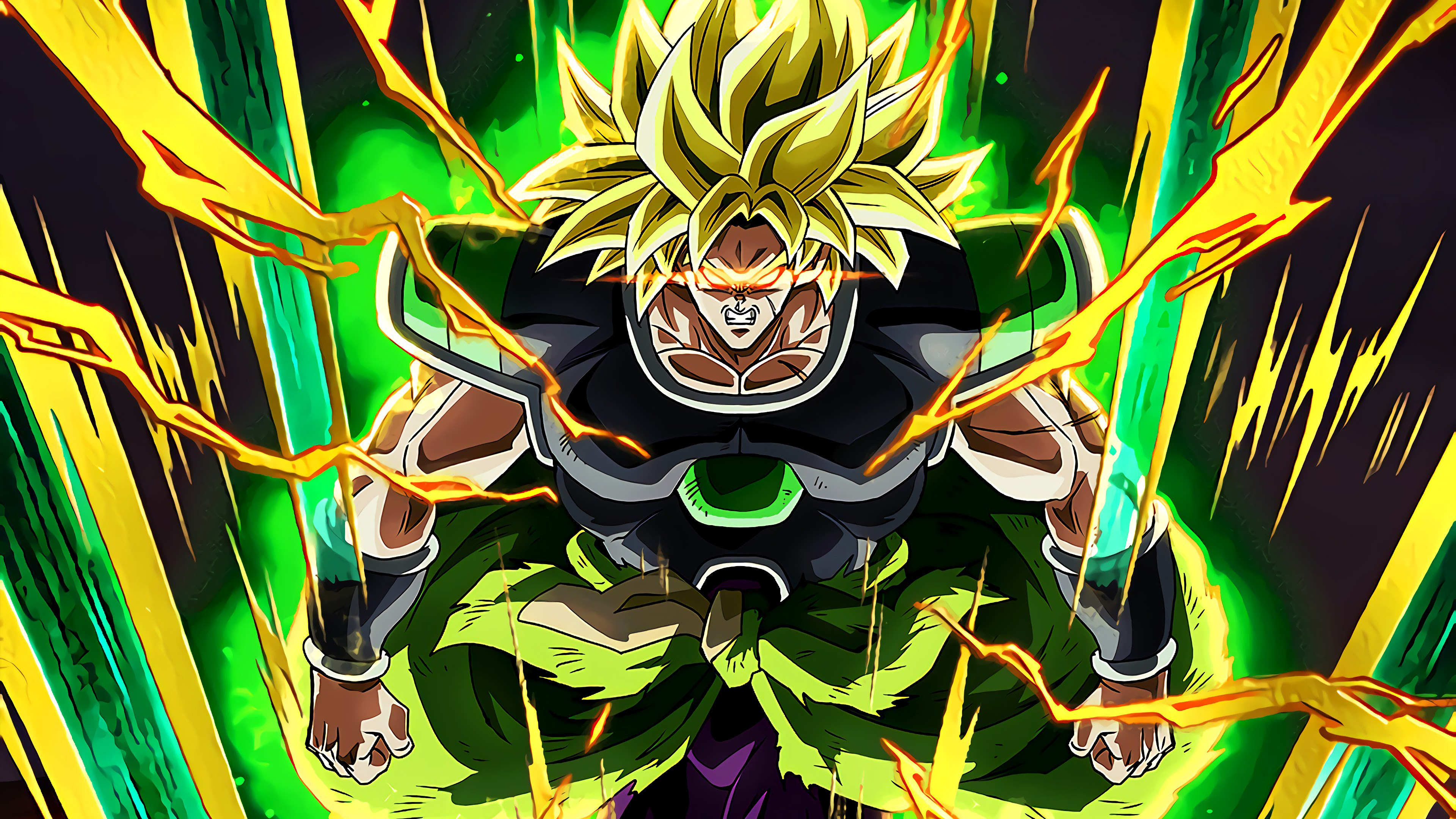 Broly Super Saiyan Dragon Ball Super Broly 4k 3840x2160
