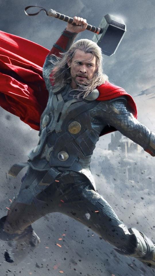 Thor 2 The Dark World 2013   Galaxy Note HD Wallpaper