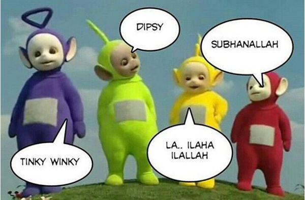 Kumpulan Meme Lucu Teletubbies Yang Salah Sebut Nama