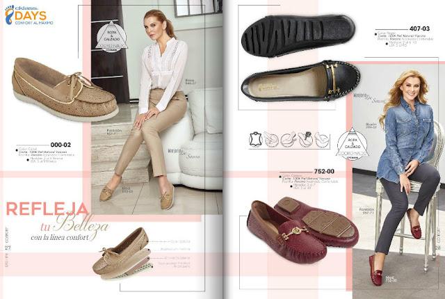 cklass  zapato confort  OI catalogo 2018  | livia brito