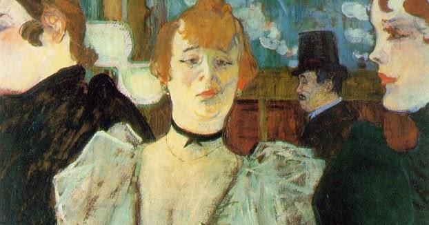 "senza dedica: Toulouse Lautrec, ""La Goulue che arriva al ..."