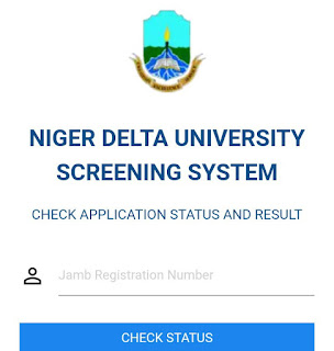 Niger Delta University: Post UTME result is out! This is how to check
