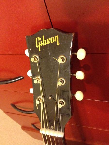 canadian vintage guitar hunt 1959 gibson j 45 acoustic guitar. Black Bedroom Furniture Sets. Home Design Ideas