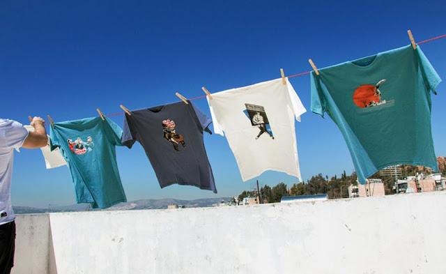 Ναύπλιο: Τα εικονογραφημένα Τ-shirts συναντήθηκαν στο «Armiriki»