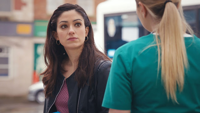 BBC, Casualty, episode review, series 32, episode 40, Alicia, Leigh-Anne, Chelsea Halfpenny, Cassie Bradley