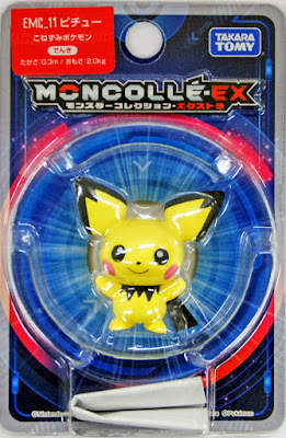 Pichu figure Takara Tomy Monster Collection MONCOLLE EX EMC series