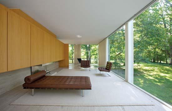 ミース・ファンデル・ローエのな少ないけれど豊かな建築【arc】 ファンズワース邸