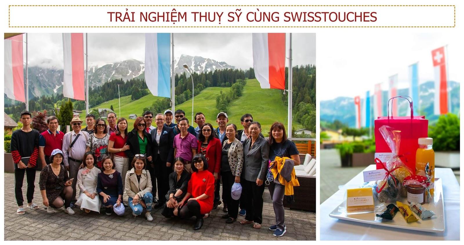 Trải nghiệm đất nước Thuỵ Sỹ cùng Swisstouches La Luna
