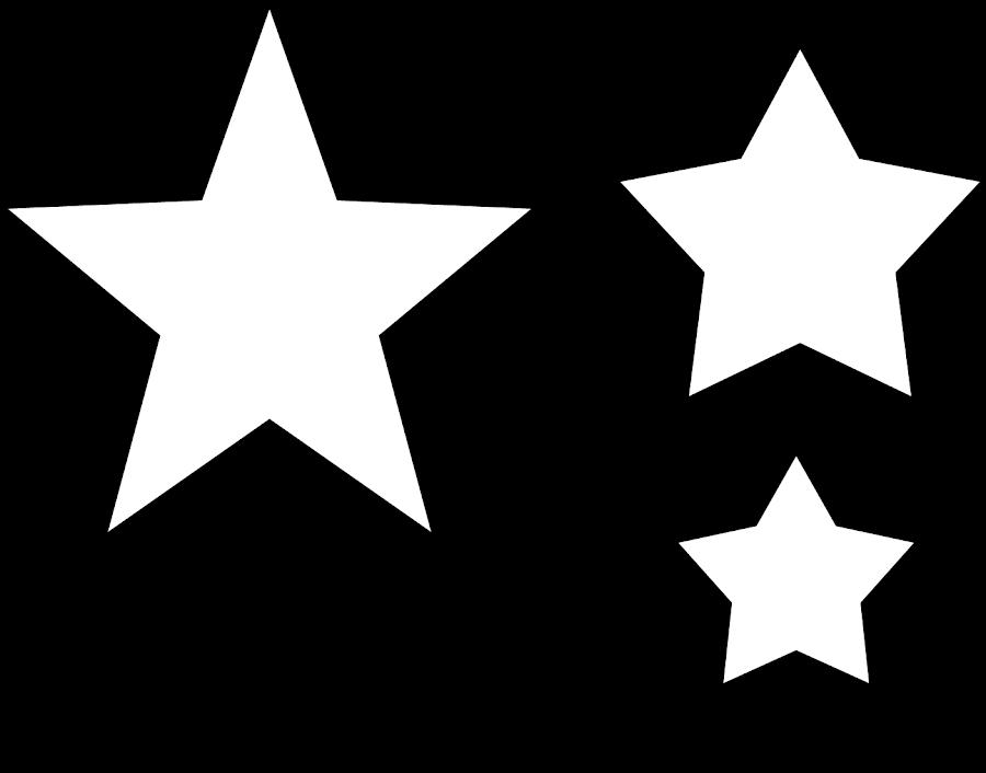 Manualidades Caseras Inma patrón estrellas para camisetas niño