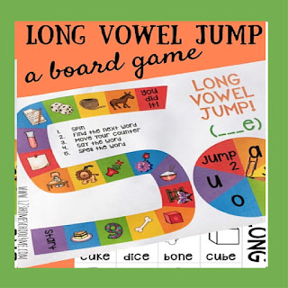 long vowel jump board game