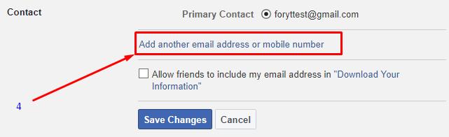 fb se email id hatana hai