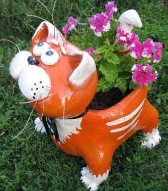 C mo hacer figuras de animales con botellas de pl stico - Macetas de plastico grandes y baratas ...