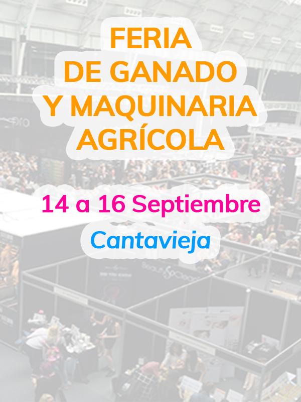 Feria de ganado y maquinaria agrícola