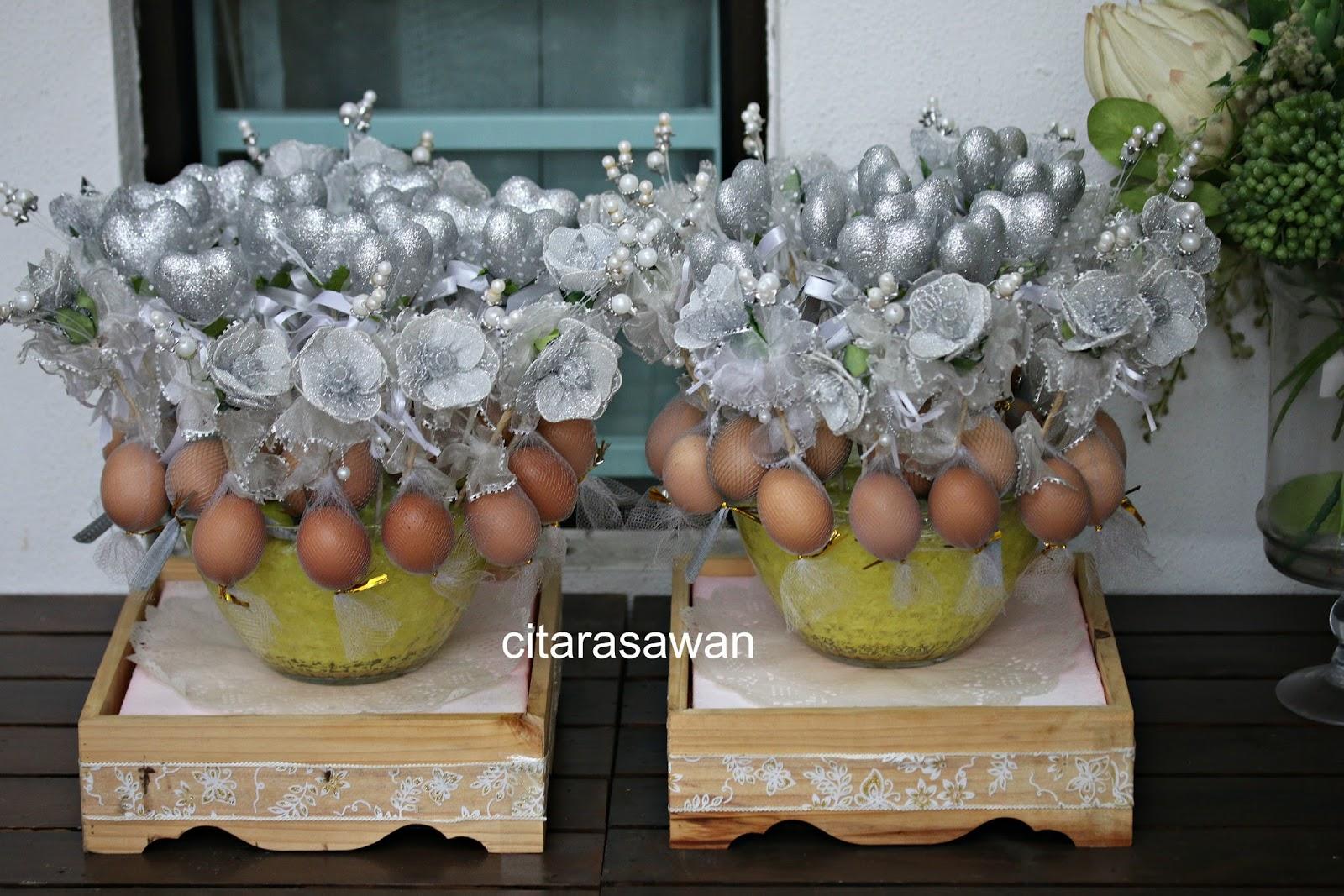 Pulut Kuning Gubahan Bunga Telur Blog Kakwan