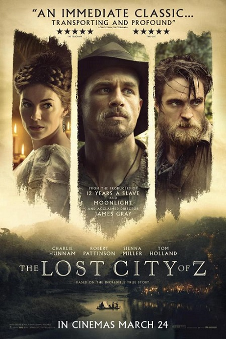 The Lost City of Z (Z, La Ciudad Perdida) (2016) 720p y 1080p WEBRip mkv Dual Audio AC3 5.1 ch