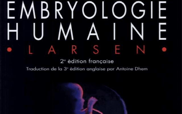 Télécharger | Embryologie Humaine livre PDF
