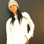 Andrea Rincon, Selena Spice Galeria 19: Buso Blanco y Jean Negro, Estilo Rapero Foto 7