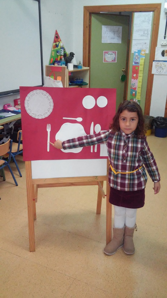 Proyectos infantil poner la mesa for Poner la mesa correctamente