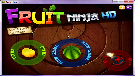 Free Download Fruit Ninja HD game for PC (Direct portable setup)