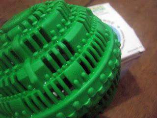 Cangkang Ecowash Laundry Ball yang kuat