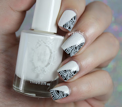 Powder Perfect White Stamping Polish