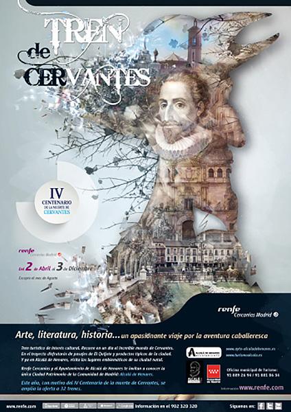 Tren de Cervantes 2016, sábados del 2 de abril al 3 de diciembre