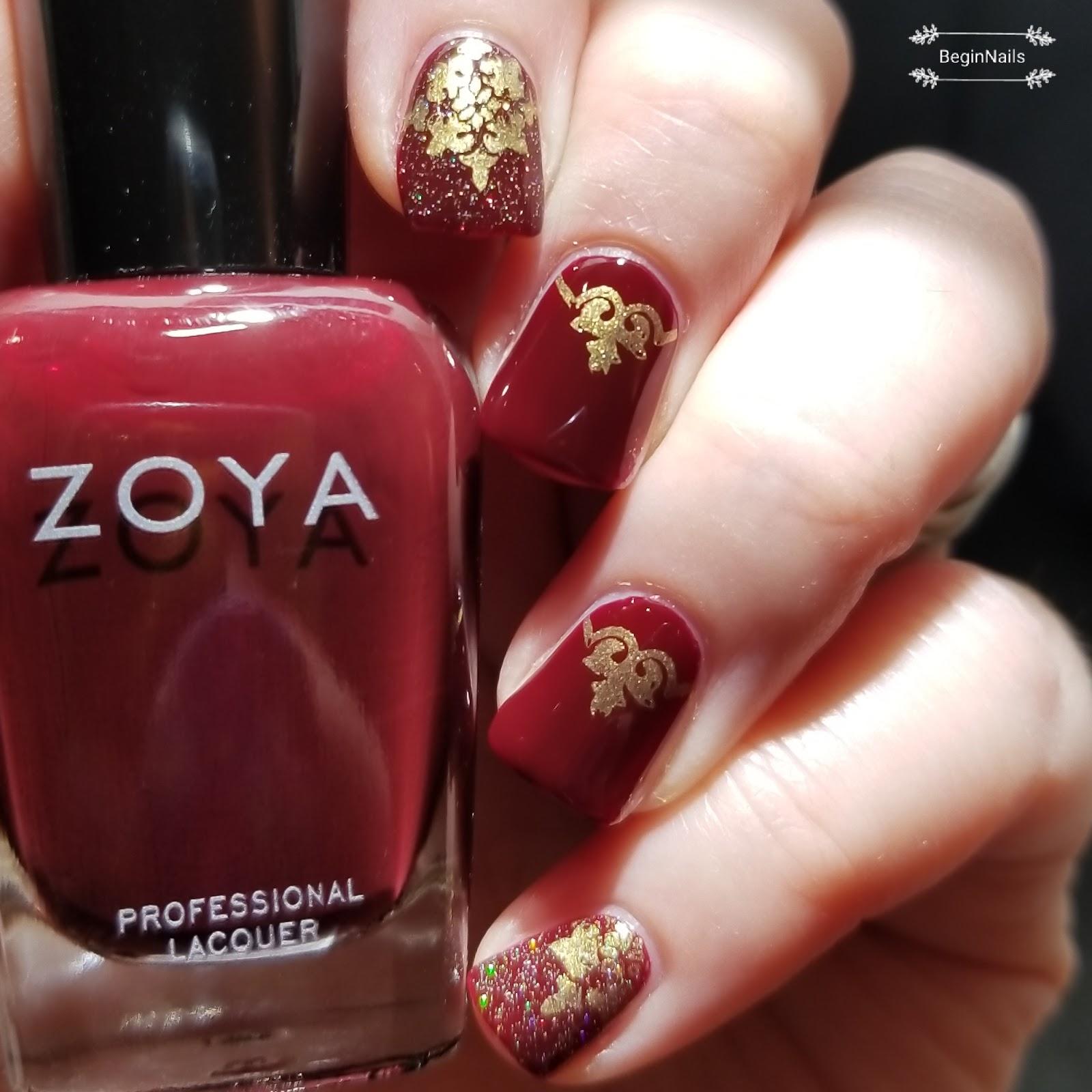 Let\'s Begin Nails: Natural Healthy Concepts - Zoya Sam Review