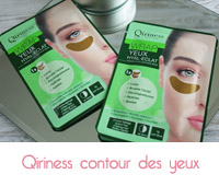 qiriness patch yeux