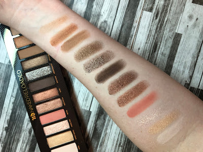 Urban Decay Naked Reloaded (Review and Swatches)