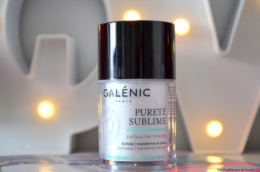 galenic - gommage - poudre gommante - exfoliation - zero defaut - peau lissee - grain de peau lisse - teint lumineux