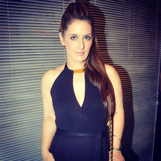pria kataria puri at gold gym relaunch, bandra, mumbai